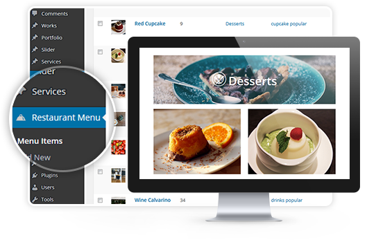 MotoPress Restaurant Menu plugin for WordPress